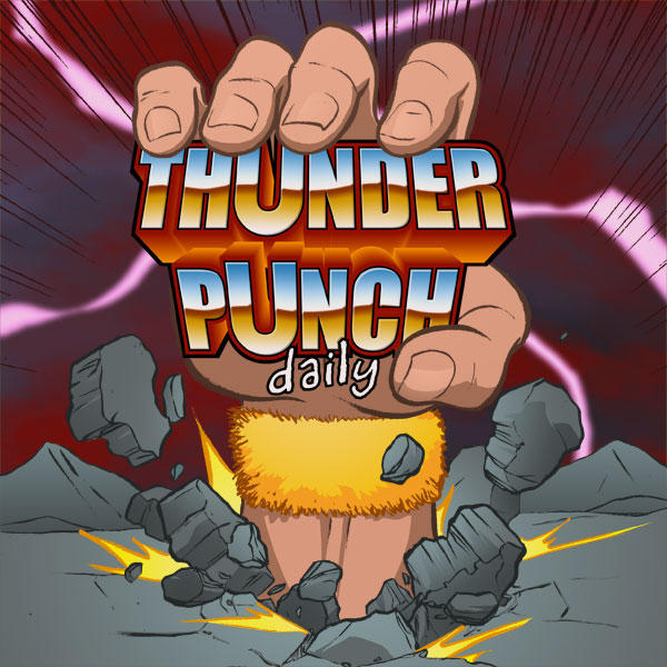 Thunder Punch Daily 26 – Jumping on the Couch
