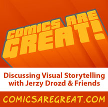 The Visual Storytelling Show, featuring roundtable discussions with the people who make comics so great.