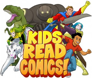 Kids Read Comics Logo