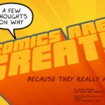 Help spread the word about comics!