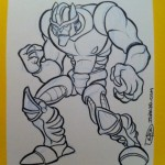 Drawing for Myself – Dinobot