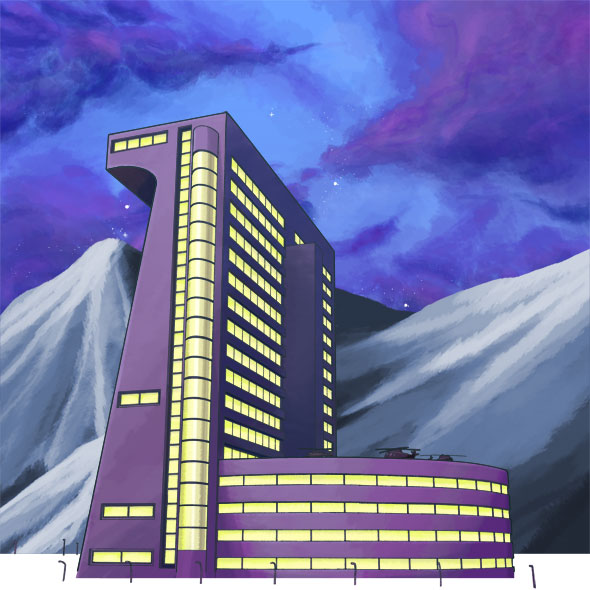 Drawing for Myself – Painting the MNSA Building