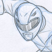 Drawing for Myself – Red Ranger