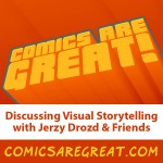 A whole lot of Comics Are Great! eps dropped in the feed today!