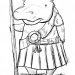 Another crack at the hippo-ish jailer