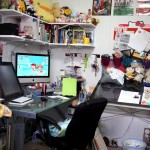 Lots of great studio tours on Draw Me A Robot Tumblr