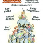 The Official Kids Read Comics 2013 Poster by Ben Hatke!
