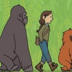 Ann Arbor event: A comics story ofthree great woman primatologists of the last century.