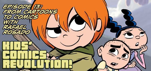 Kids' Comics Revolution! 13